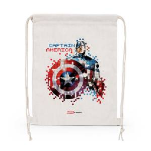 Marvel: Captain America pixels Drawstring Bag
