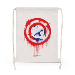 Marvel: Captain America Streetart Shield Drawstring Bag