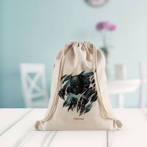 Marvel: Green Black Panther Drawstring Bag