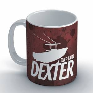 Dexter: Captain Dexter Coffee Mug